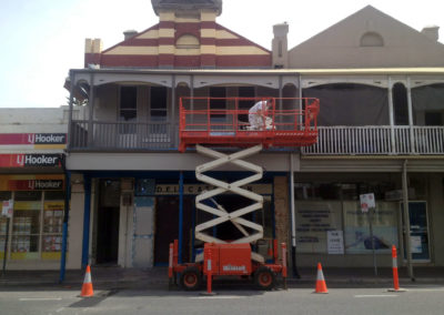 commercial industrial shop shopping centre warehouse office business fitout carpenters tilers tradesmen plasterers plumbers roof jay duggin painting