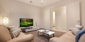 living room interior home adelaide region south australia jay duggin painting