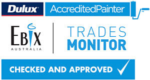 dulux ebix trades monitor checked approved accredited painter jay duggin painters