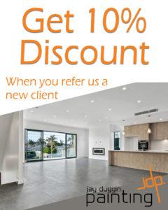 JDP 10% referral offer Vertical